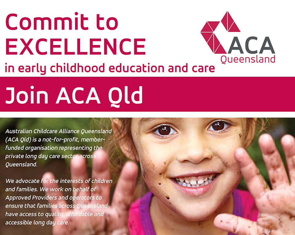 Commite to excellence in ECEC - Join ACA Qld